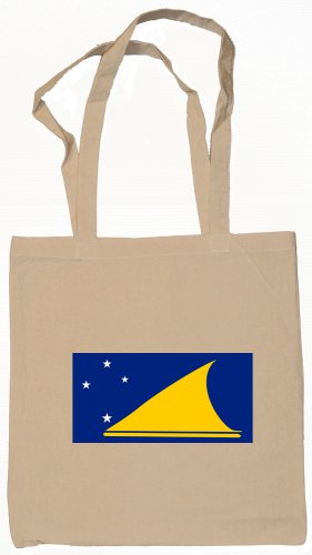 Tokelau Flag Souvenir Canvas Tote Bag Shopping School Sports Grocery Eco