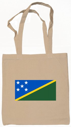 Solomon Islands  Flag Souvenir Canvas Tote Bag Shopping School Sports Grocery Eco