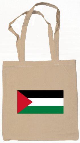 Palestine Palestinian Flag Souvenir Canvas Tote Bag Shopping School Sports Grocery Eco