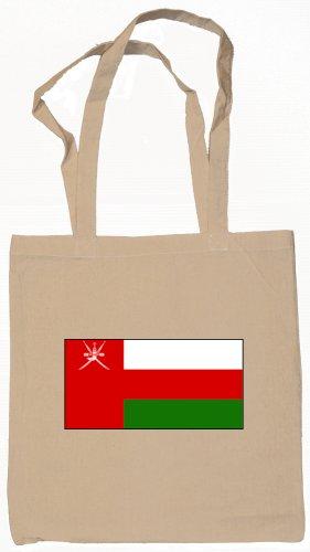 Oman Omani Flag Souvenir Canvas Tote Bag Shopping School Sports Grocery Eco