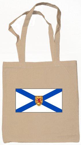 Nova Scotia Canada Scotian Flag Souvenir Canvas Tote Bag Shopping School Sports Grocery Eco