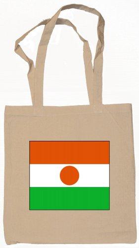 Niger Flag Souvenir Canvas Tote Bag Shopping School Sports Grocery Eco