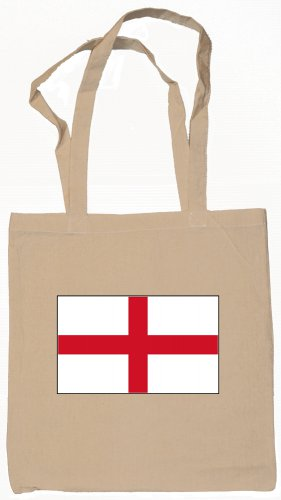 England English Flag Souvenir Canvas Tote Bag Shopping School Sports Grocery Eco