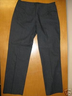 Black THE LIMITED Stretch Denim Dress Pants Size 10 EUC