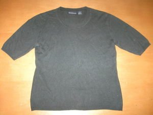 Green Silk/Cashmere BRIDGETOWN COLLECTION Sweater S