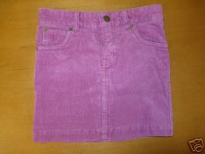 Girls Purple Corduroy RAPLH LAUREN Skort Size 6 Cute!