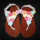 Toddler Girls GYMBOREE Flower Thong Sandals Shoes 8