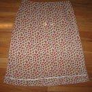 Floral Pretty A-Line EXPRESS Ruffle Skirt 9 / 10