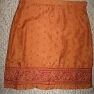 Asian Inspired Silk AMERICAN EAGLE Skirt Sz 0