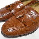 Leather STANLEY BLACKER Tassel Dress Loafers Shoes 10 M