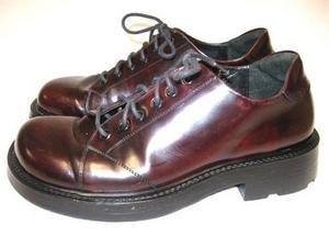 Mens Burgundy Leather KENNETH COLE Oxfords Shoes 9 1/2