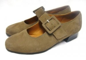 Suede Leather BEAUTIFEEL Buckle Loafers Shoes 37 6 6.5
