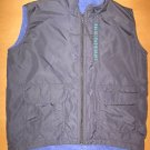 Girls REI Fleece Lined Black Nylon Vest Size XS 4 or 5