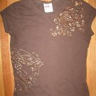 Womens Juniors ROXY PARADISE Tee T Shirt Top Small S