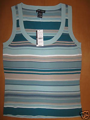 NEW NWT NEW YORK NY & CO COMPANY Tank Shirt Top M