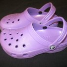 ~Purple Cayman Crocs! Womens Size 4~