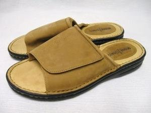 WORN 1X MINNETONKA Suede Sandals Slides 9 LK NW