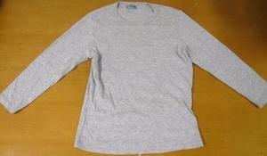 VELVET ANTHROPOLOGIE Gray Layering Shirt Top L