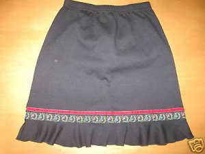 Holiday HANNA ANDERSSON Ruffle Skirt 150 11-13 yrs