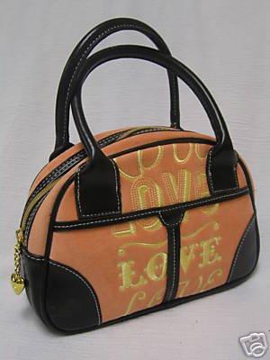 "NEW VICTORIA'S SECRET ""Made With Love"" Purse Handbag"