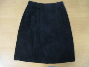 LEATHER SUEDE STRAIGHT SKIRT FROM THE LIMITED SIZE 4