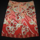Pretty ANN TAYLOR A-Line Front Pleat Cotton Skirt 2