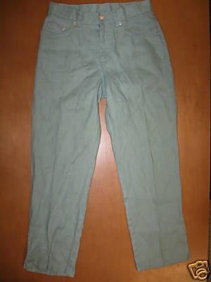 RALPH LAUREN Linen Capri Pants 2 Petite