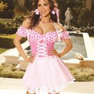 Be My Valentine Candy Hearts Costume Pink Sizes S-L