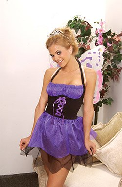 Story Book Maiden Costume Purple Sizes S-L