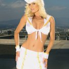 Naughty Sailor Girl 4 Piece Costume White Sizes S-L
