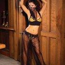 Belly Dancer 4 Piece Costume Gold Sizes 1X-4X