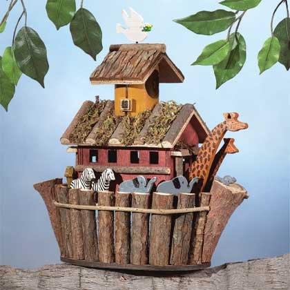 31248 Wood Noah Ark's Birdhouse