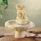 31029 Alabastrite Cherub Water Fountain
