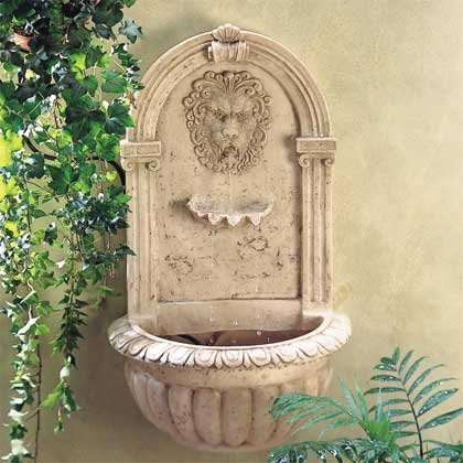 32428 Lion Wall Fountain
