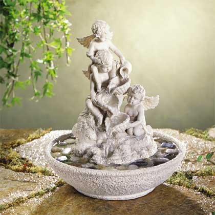 33571 Cherub Fountain