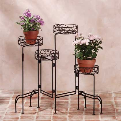 31339 4-Tier Metal Plant Stand