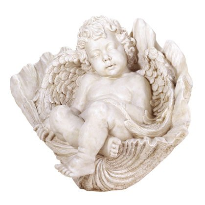 32004 Sleeping Cherub On Shell