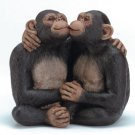 34511 Kissing Monkey Couple