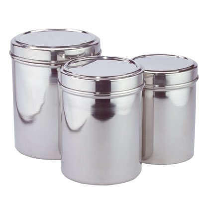 35350 Stainless Steel Canister Set