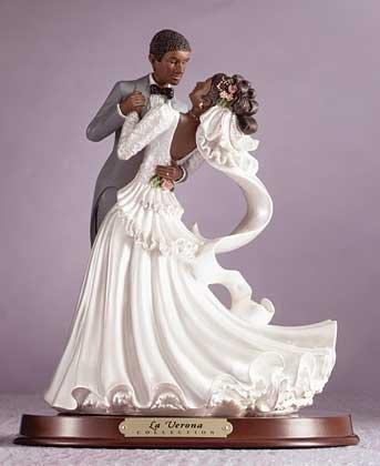 29319 Alabastrite Afro-American Bride & Groom