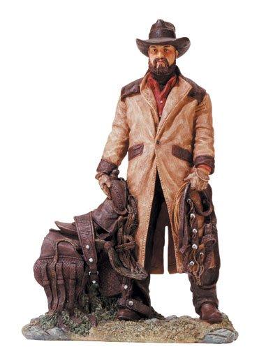 30737 Alabastrite Cowboy With Saddle
