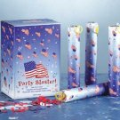 34537 1-Dozen Patriotic Party Poppers