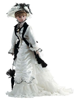 """30673 20"""" Porcelain Doll - Eliza"""