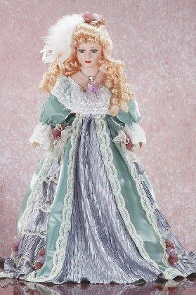 "31135 22"" Porcelain Victorian Doll - Alicia"