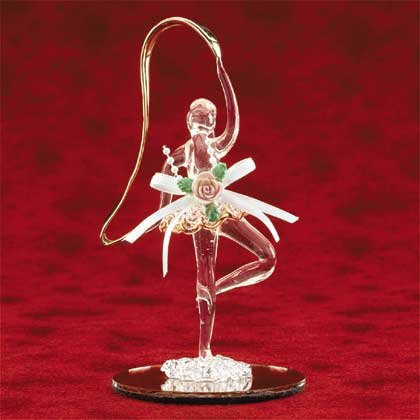 25558 Spun Glass Ballerina
