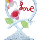 "30255 Spun Glass Hummingbird ""Love"""
