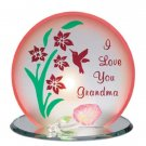 "35569 ""I Love You Grandma"" Candleholder"