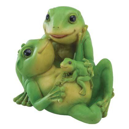 35634 Frog Family Figurine