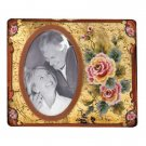 35646 Rose Painted Glass Photo Frame