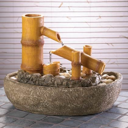 35192 Bamboo Water Fountain